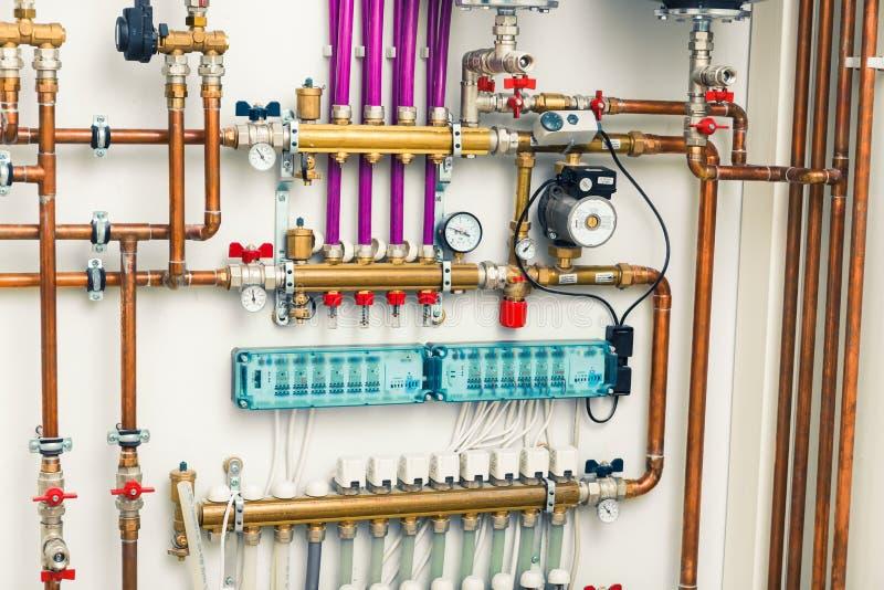 Система отопления под полом стоковые изображения rf