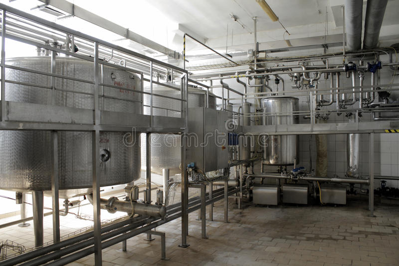 Система очистки воды стоковые фото