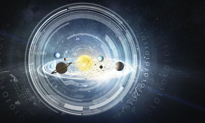 Система планет Мультимедиа стоковые фото