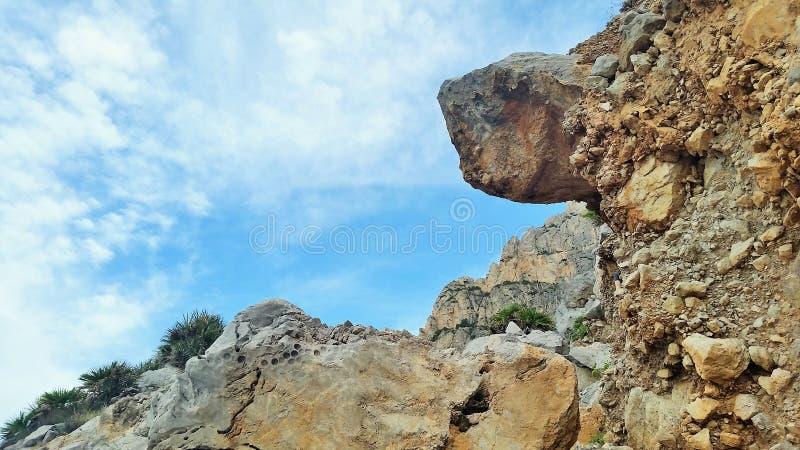 Сицилийские голубые небеса стоковое фото rf