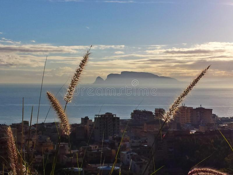 Сицилия стоковая фотография