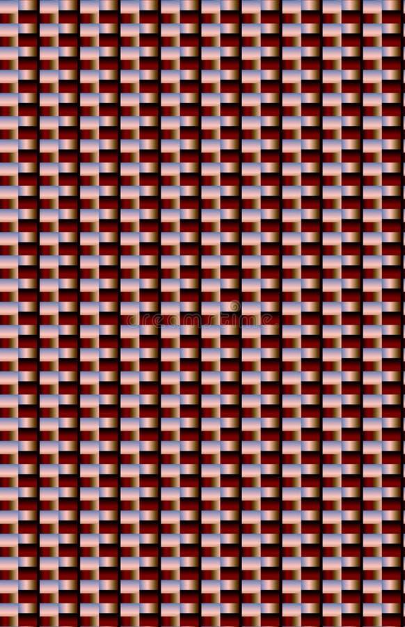 Сияющая отражательная сияющая металлическая красная поверхность стоковое фото rf