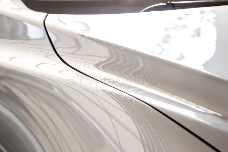 Сияющая часть тела автомобиля стоковое изображение