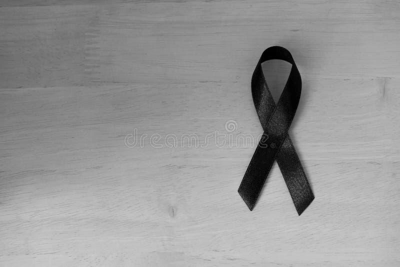 Сияющая черная картина детали текстуры ткани смычка ленты: Лента aw стоковая фотография