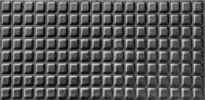 Сияющая черная предпосылка, синтетический пенообразный материал с параллельными строками стоковое фото rf