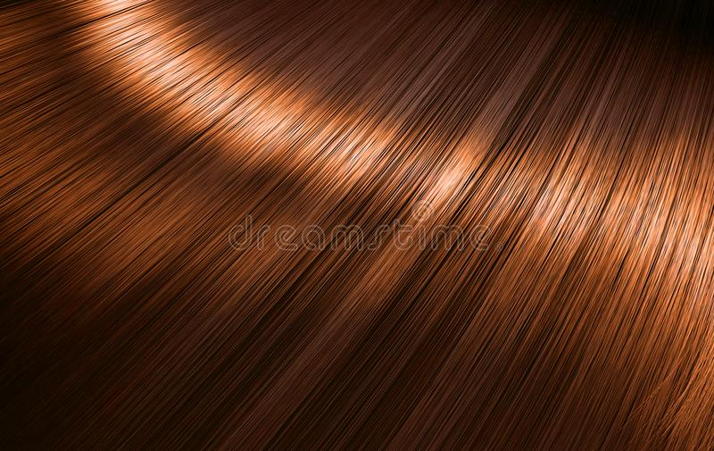 Сияющие волосы имбиря бесплатная иллюстрация