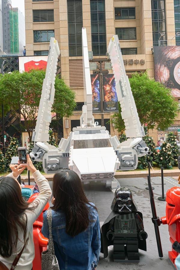 Сила будит выставку в Таймс площадь стоковые фото