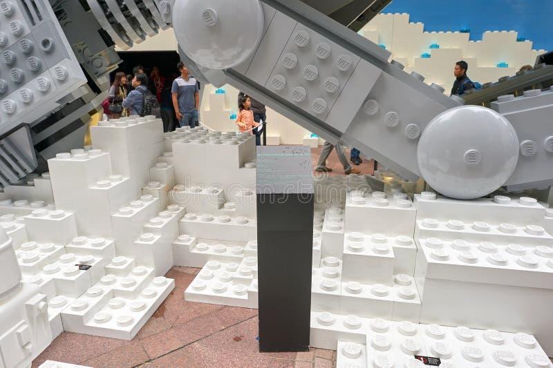 Сила будит выставку в Таймс площадь стоковые изображения rf