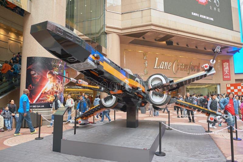 Сила будит выставку в Таймс площадь стоковое фото