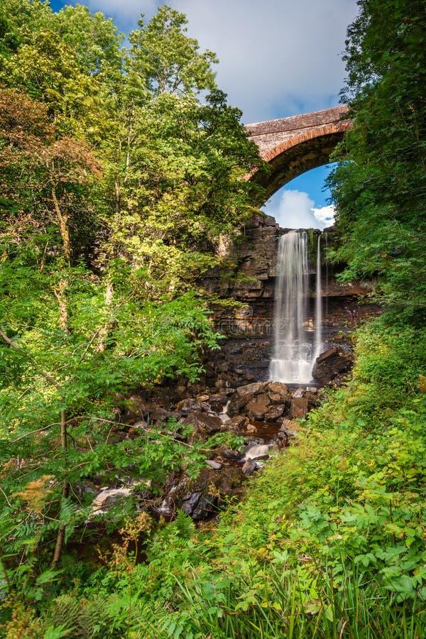 Сила и мост Ashgill стоковое изображение