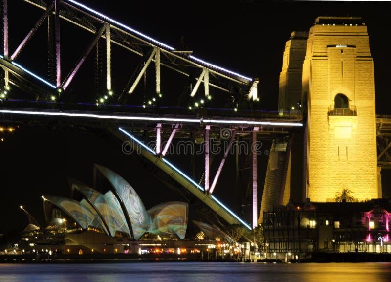 Сидней яркий стоковые изображения rf