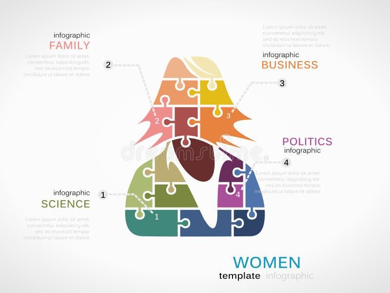 Силуэт бизнес-леди бесплатная иллюстрация