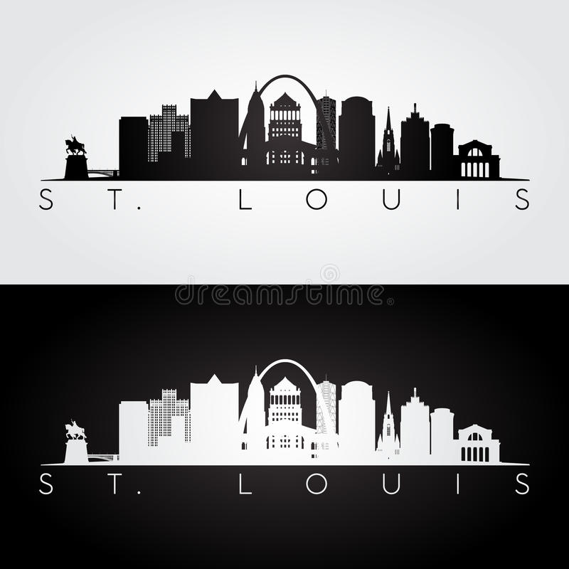 Силуэт горизонта Сент-Луис