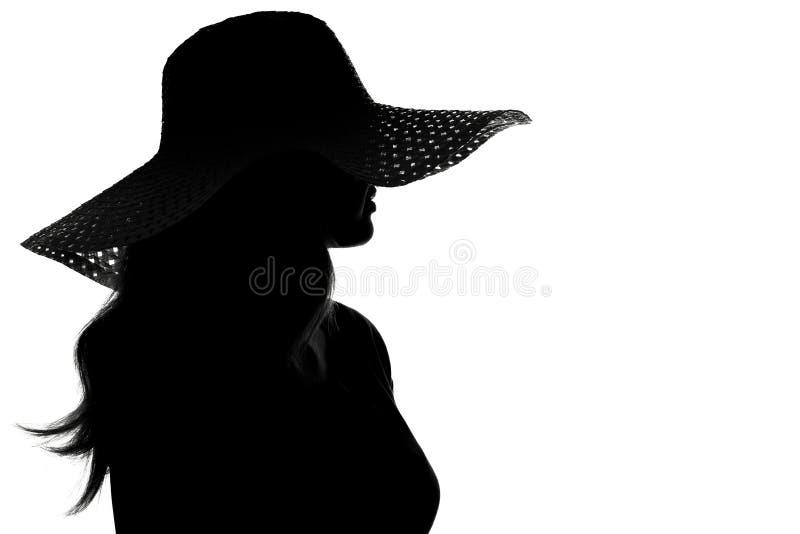 фото в шляпе картинки силуэт первом