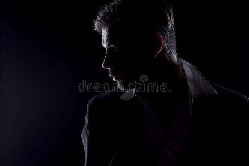 силуэт человека s стоковое фото