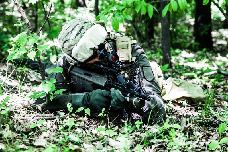 Силы специального назначения австрийца Jagdkommando стоковое фото rf