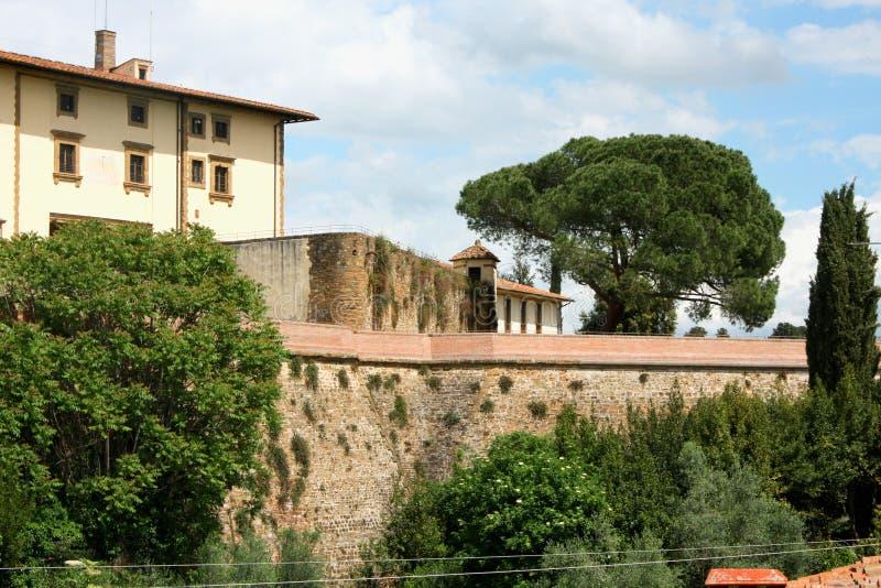 Сильная сторона di Бельведер в Флоренсе, Тоскане, Италии стоковое изображение rf