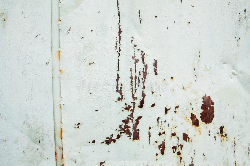 Сильно детальное изображение предпосылки металла grunge ржавой стоковое изображение rf