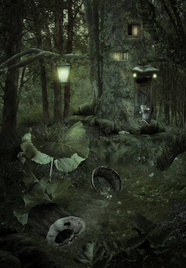 Сказка леса стоковые изображения rf