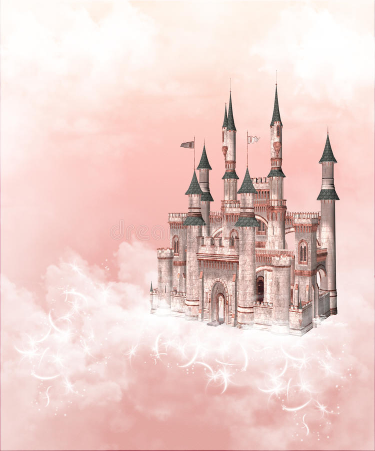 сказка замока бесплатная иллюстрация