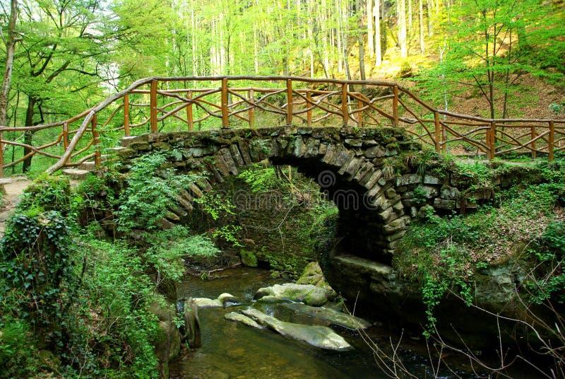 сказка моста стоковые изображения rf