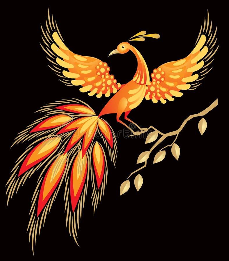 сказы русского firebird характера fairy иллюстрация штока