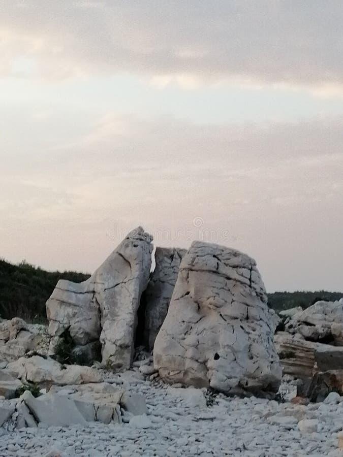Скалистая скала стоковые фото