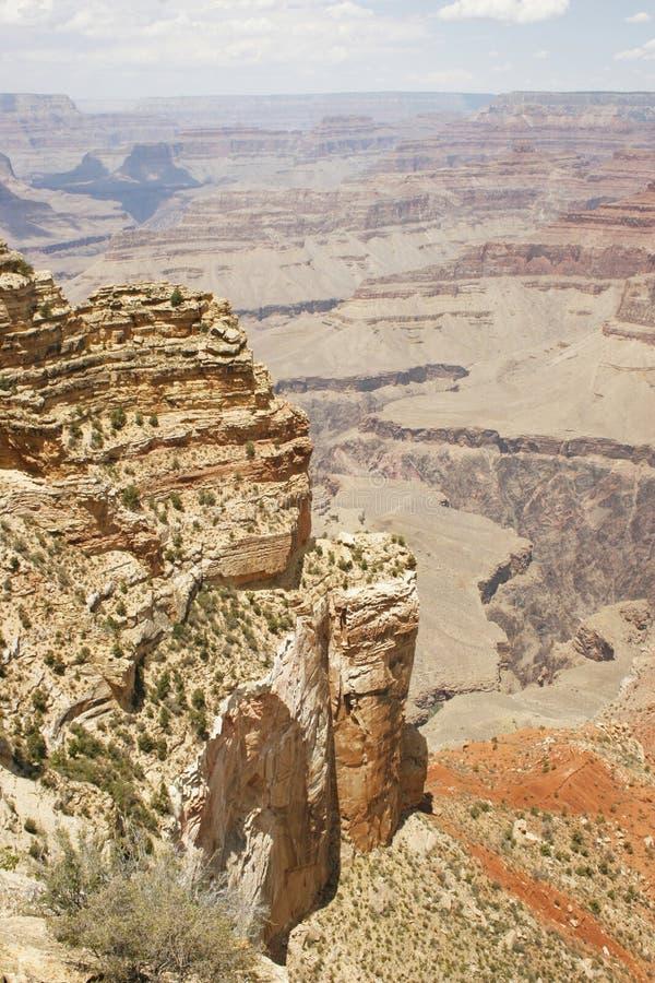 скалы каньона грандиозные стоковое изображение rf