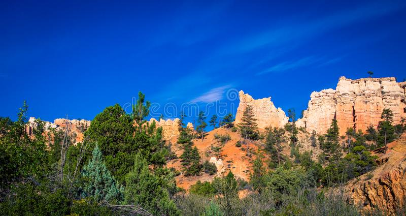 скалы каньона Bryce стоковое изображение