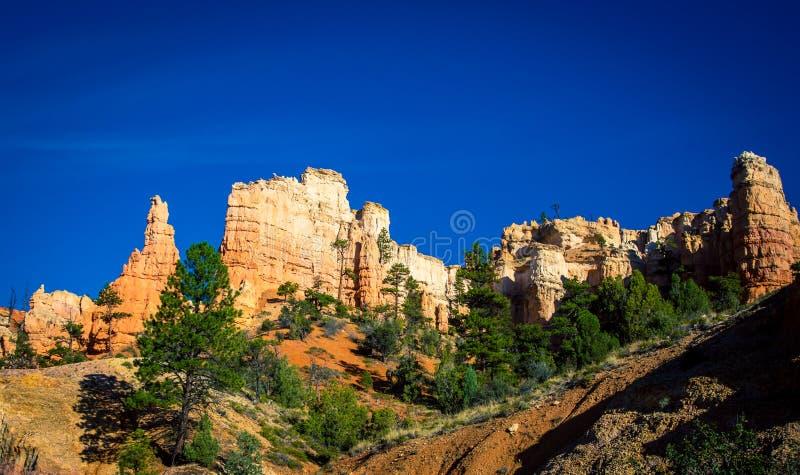 Скалы каньона Bryce стоковые фотографии rf