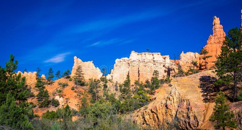 Скалы каньона Bryce стоковая фотография rf