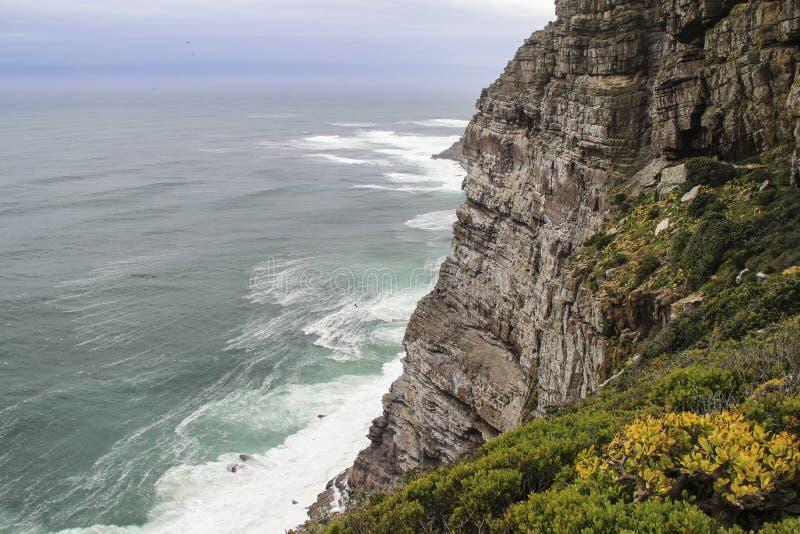 Скалы накидкой хорошей надежды около Кейптауна, Южной Африки стоковые изображения
