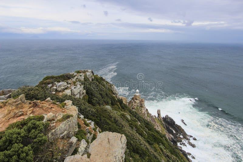 Скалы накидкой хорошей надежды около Кейптауна, Южной Африки стоковое фото