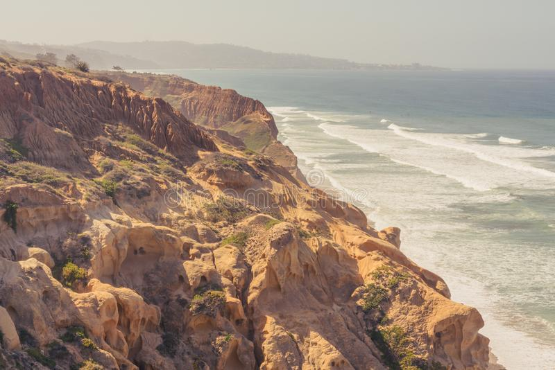 Скалы песчаника на парке штата сосен Torrey стоковые фото