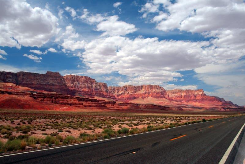 скалы США vermillion стоковые фотографии rf