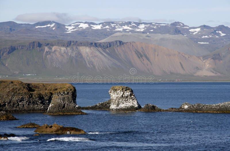 скалы icelandic стоковое фото