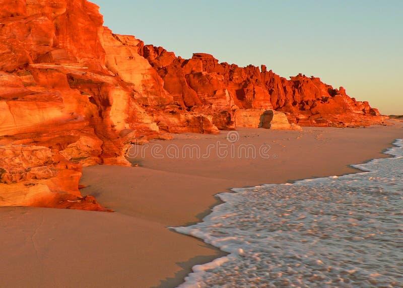 скалы sunlit стоковые фотографии rf