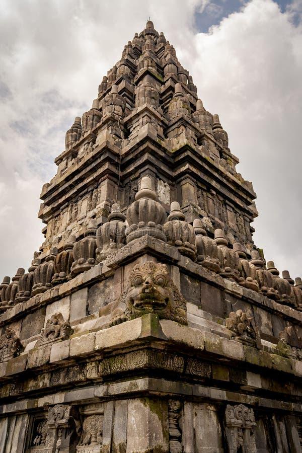 скальная скульптура или резьба по храму в Индонезии стоковая фотография