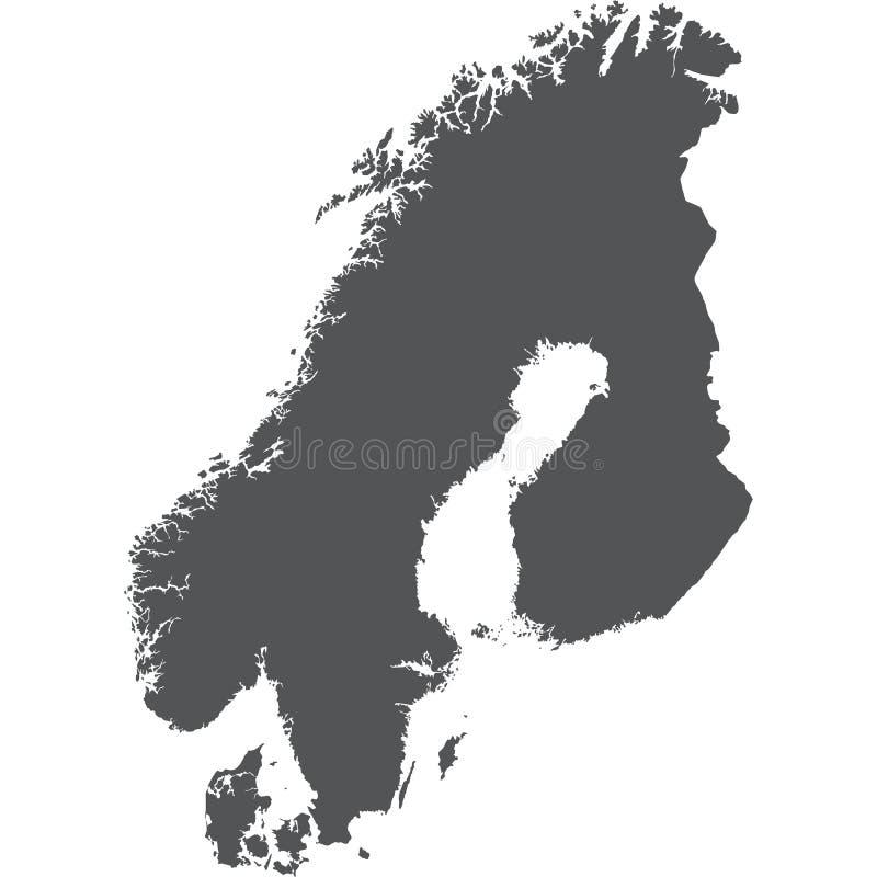 Скандинавия стоковое фото