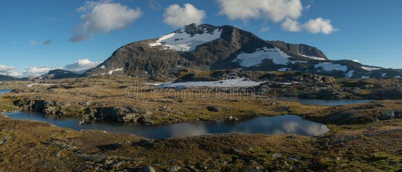 Скандинавский ландшафт стоковое фото rf