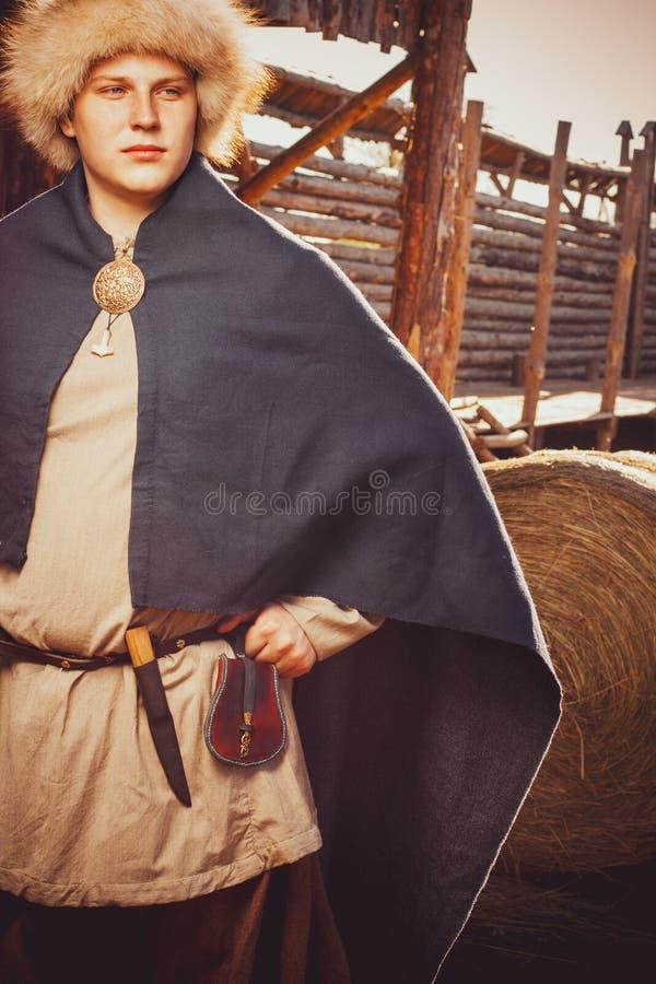 Скандинавский зажиточный житель острова Готланда стоковые изображения rf
