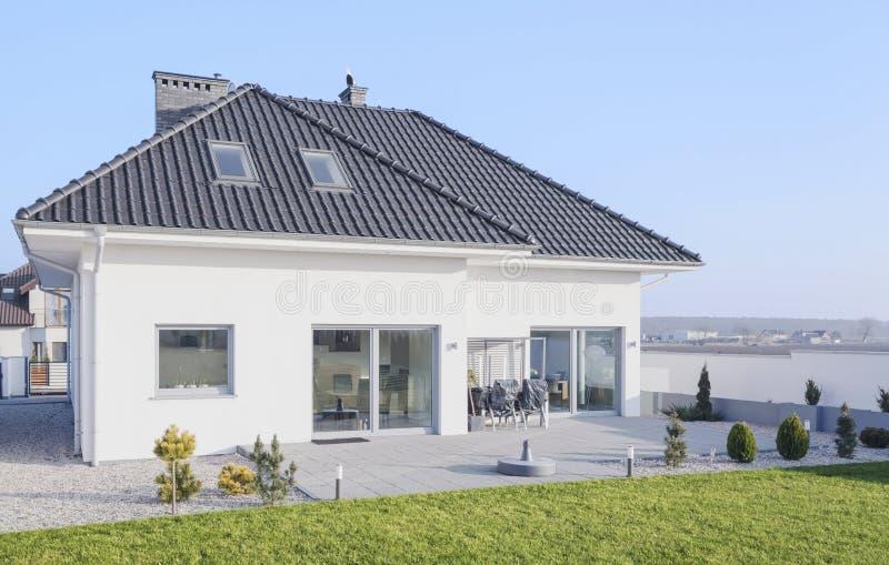 Скандинавский дом стиля стоковое фото rf