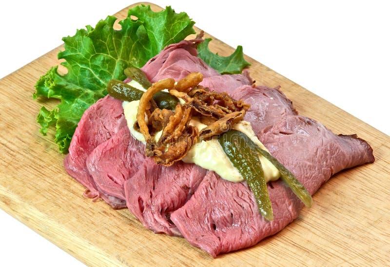 Скандинавский сандвич, еда стоковое изображение