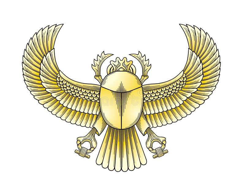 скарабей золота бесплатная иллюстрация