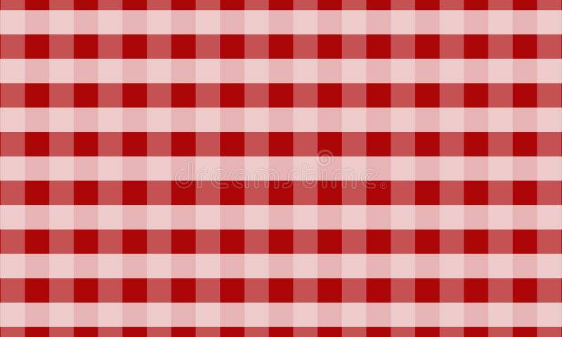 Скатерть для шотландки, предпосылки, скатертей для статей ткани стоковые фото