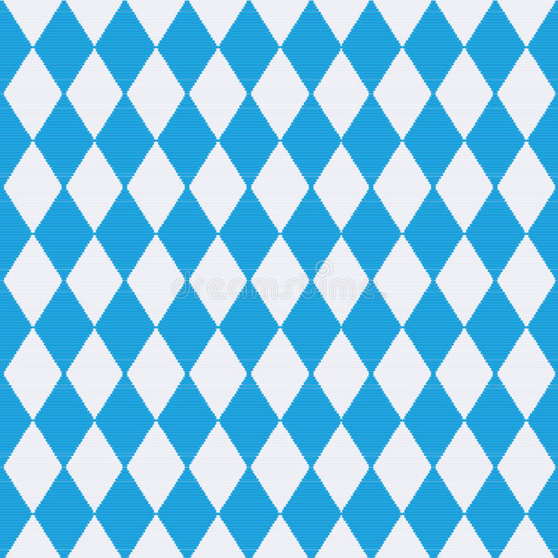 Скатерть с картиной Баварии иллюстрация штока