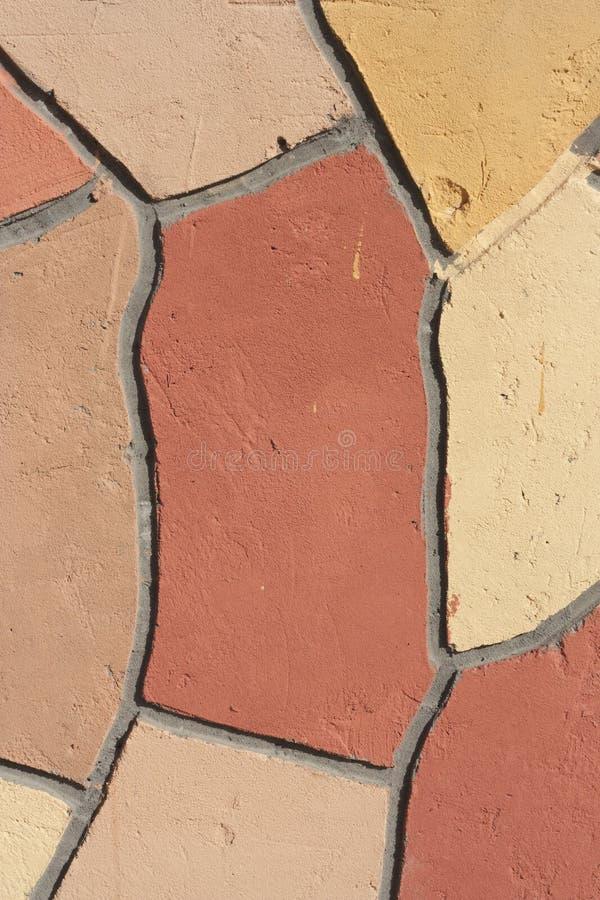 Скачками мозаика стены напольная стоковая фотография rf