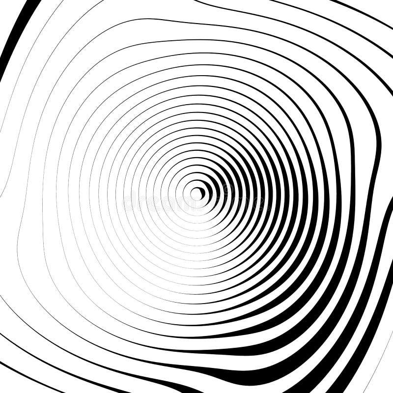 Download Скачками спиральная предпосылка в квадратном формате абстрактное геометрическое Иллюстрация вектора - иллюстрации насчитывающей черный, динамически: 81814301