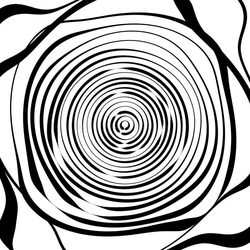 Download Скачками спиральная предпосылка в квадратном формате абстрактное геометрическое Иллюстрация вектора - иллюстрации насчитывающей концентрическо, backhoe: 81814359