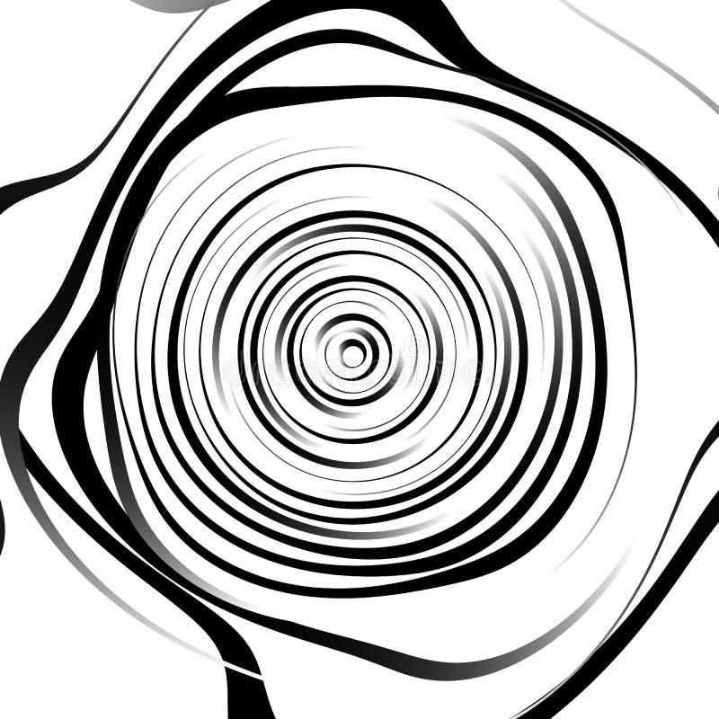 Download Скачками спиральная предпосылка в квадратном формате абстрактное геометрическое Иллюстрация вектора - иллюстрации насчитывающей внутрено, передернуто: 81814560